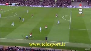 منچستر یونایتد ۱ - منچستر سیتی ۰ ؛ جام اتحادیه انگلیس