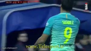 بارسلونا در ویسنته کالدرونه اتلتیکو را شکست داد