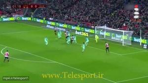 شکست بارسلونا در مقابل اتلتیک بیلبائو ۹ نفره!