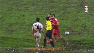 درگیری بازیکنان در بازی ایران و سوریه