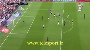 لالیگا؛ بارسلونا ۳ - والنسیا ۲