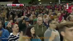 پرتغال ۴ - لتونی ۱ ؛ بازی های مقدماتی جام جهانی ۲۰۱۸