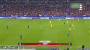 فرانسه ۲ - سوئد ۱ ؛ بازی های مقدماتی جام جهانی ۲۰۱۸