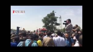 سقوط هواپیما در تهران