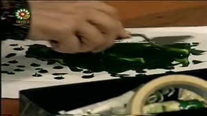 اموزش نقاشی رنگ روغن با چاقو