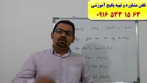 آموزش زبان انگلیسی کنکور سراسری در اهواز و ایران با استاد علی کیانپور- لغات انگلیسی کنکور سراسری