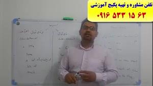 آموزش زبان انگلیسی کنکور سراسری در اهواز و ایران با استاد علی کیانپور-لغات زبان انگلیسی کنکور سراسری