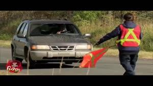 دوربین مخفی گزارش تصادف ماشین