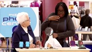 دوربین مخفی جالب کمک به پیر زن عینکی