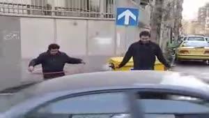 دوربین مخفی پلیس ایران و طناب بازی
