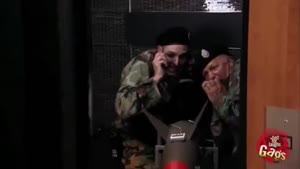 دوربین مخفی بمب هسته ای در آسانسور