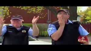 هنرنمایی پلیس