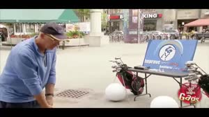 دوربین مخفی گلف در خیابان
