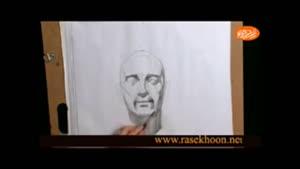 طراحی چهره مانند عکس