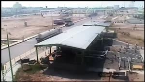 انفجار مهیب در یک مجتمع گاز