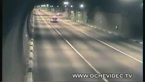 تصادف در تونل