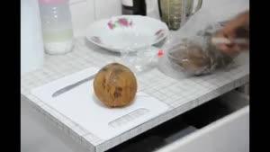 روش سریع پوست کردن نارگیل