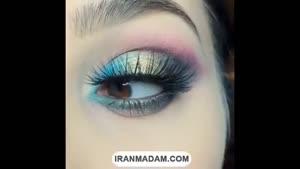 آموزش آرایش چشم.