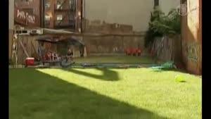 حیاط خلوتهای اجاره ای در نیویورک سیتی