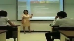 واکنش به جواب دادن موبایل سر کلاس توسط دانشجو