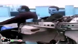 عجیبترین پراید در ایران
