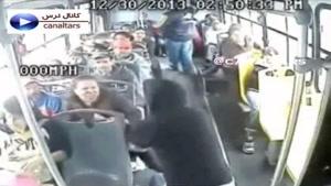 حمله سارقین به اتوبوس برای دزدی در روز روشن ؟؟؟؟؟!!!!!!!!!!!!!!