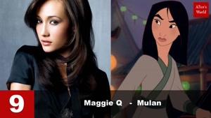 Top ۱۰ Celebrities who look like Disney Princesses
