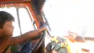 راننده کامیو ن شش ساله در خوزستان