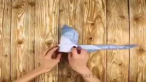روش تا زدن دستمال برای سرمیز مخصوص با کلاسا و با سلیقه ها