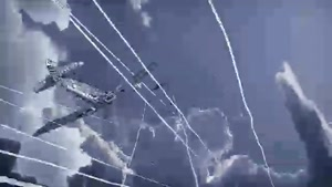 انیمیشن هیجان انگیز و دلهره اور جنگ هوایی