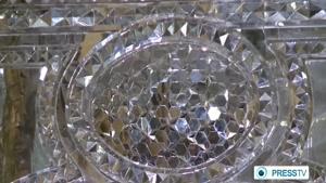 Iran interior architecture mirror work آيينه كاري در ساختمانهاي سنتي ايراني