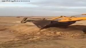 چاهی عجیب در عربستان که هرچی میندازی داخل پرتاپ میکنه بیرون