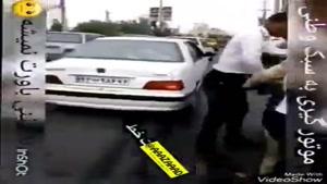 ابتکار خلاقانه پلیس راهنمایی و رانندگی برای گرتن موتور سیکلت