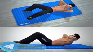 حرکت بسیار موثر برای کوچک کردن شکم