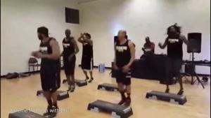 ایروبیکو رقص هیپ هاپ