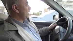 راننده تاکسی باحال که صدا تقلید میکنه