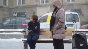 واکنش مردم به سرمازدگی در نروژ