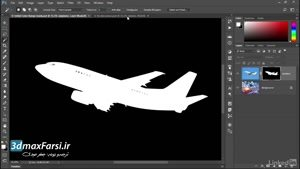 فیلم آموزش مقدماتی فتوشاپ (جعفر صیدی) کار با Photoshop Wand + Brush