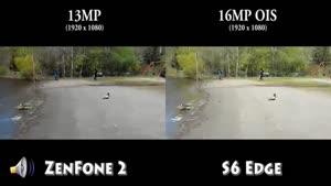 مقایسه دوربین زن فون ۲ با گلکسی اس ۶