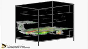 حرکت و پخش جریان هوا و دود در ساختمان