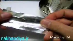 روشن کردن اتیش بدون مواد اتش زا