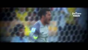 سیوهای جولیو سزار در جام جهانی ۲۰۱۴ با کیفیتHD