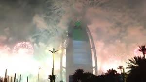 سالگرد تاسیس برج العرب در دبی