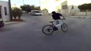 دریفت با دوچرخه