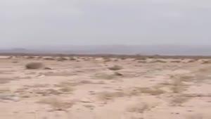 فرود هواپیما در بیابان