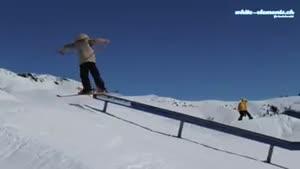 اسکی با موانع سخت
