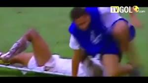 لحظه های خنده دار فوتبال