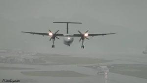 فرودگاه جولیانا و باران های شدید