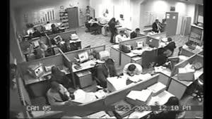 دوربین مخفی در یک شرکت
