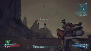 دیدن کاراکتر Donkey Kong در بازی Borderlands ۲